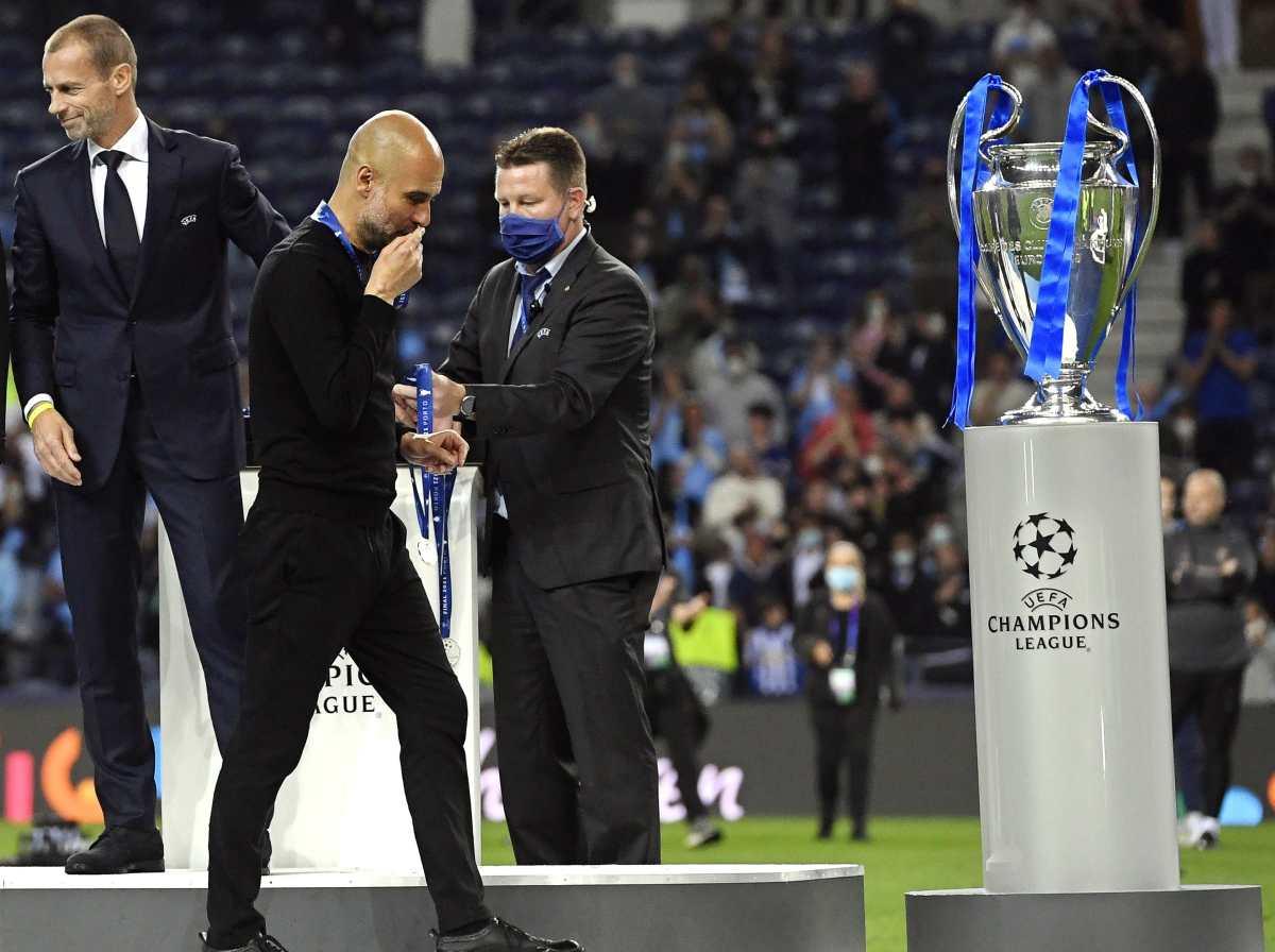 Duro golpe para técnico Pep Guardiola y el Manchester City en la Champions
