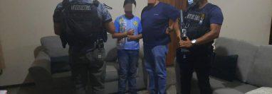 El niño de 11 años que había sido secuestrado por sujetos armados fue liberado por el Comando Antisecuestros. (Foto Prensa Libre: PNC)