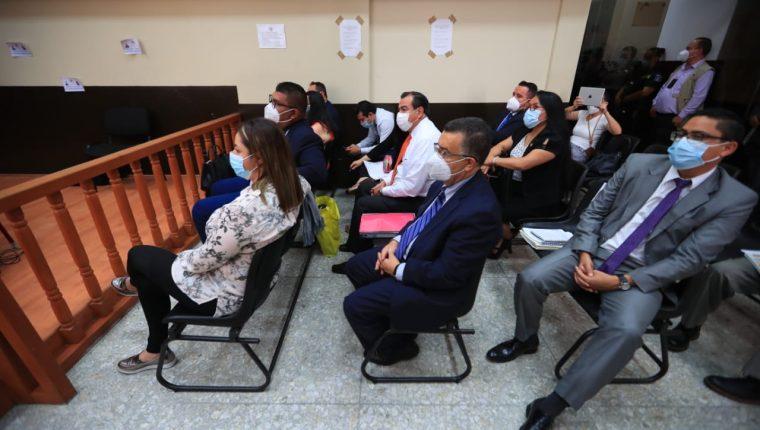 """La jueza Erika Aifán envió a prisión preventiva a implicados en el caso """"Comisiones Paralelas 2020"""". (Foto Prensa Libre: Carlos Hernández)"""