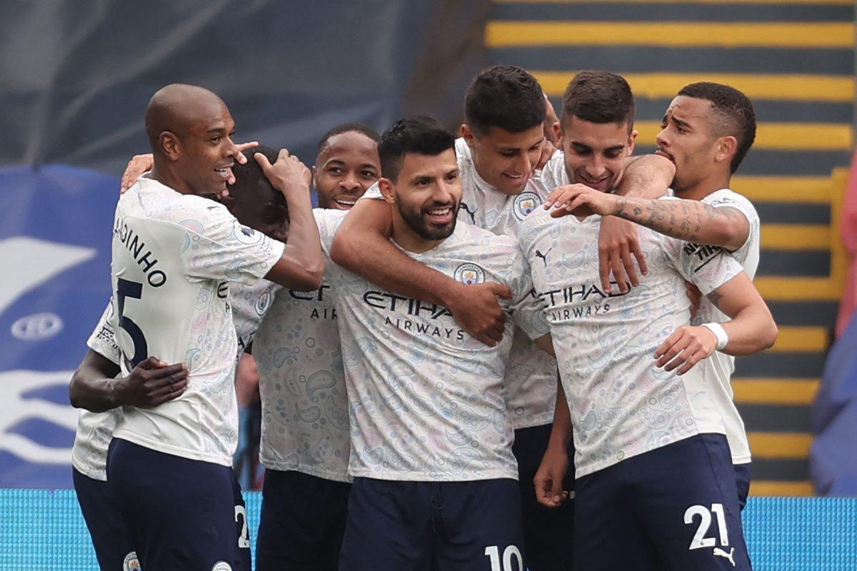 Guardiola elogia a Sergio Agüero por el gol decisivo conseguido frente al Crystal Palace