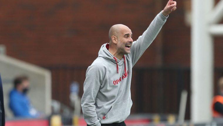 Pep Guardiola busca su primera final de Champions con el City. (Foto Prensa Libre: AFP)