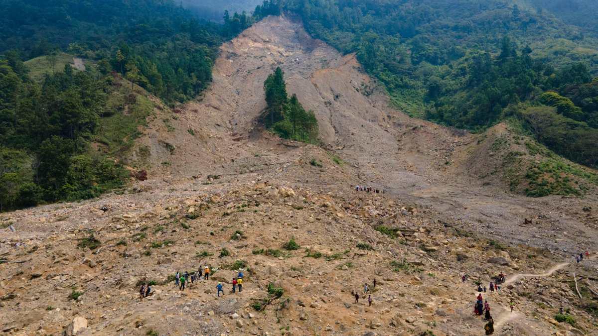 Conred declara zona de Alto Riesgo en aldea Quejá, en donde en 2020 un deslizamiento mató a 8 personas y dejó 50 desaparecidos