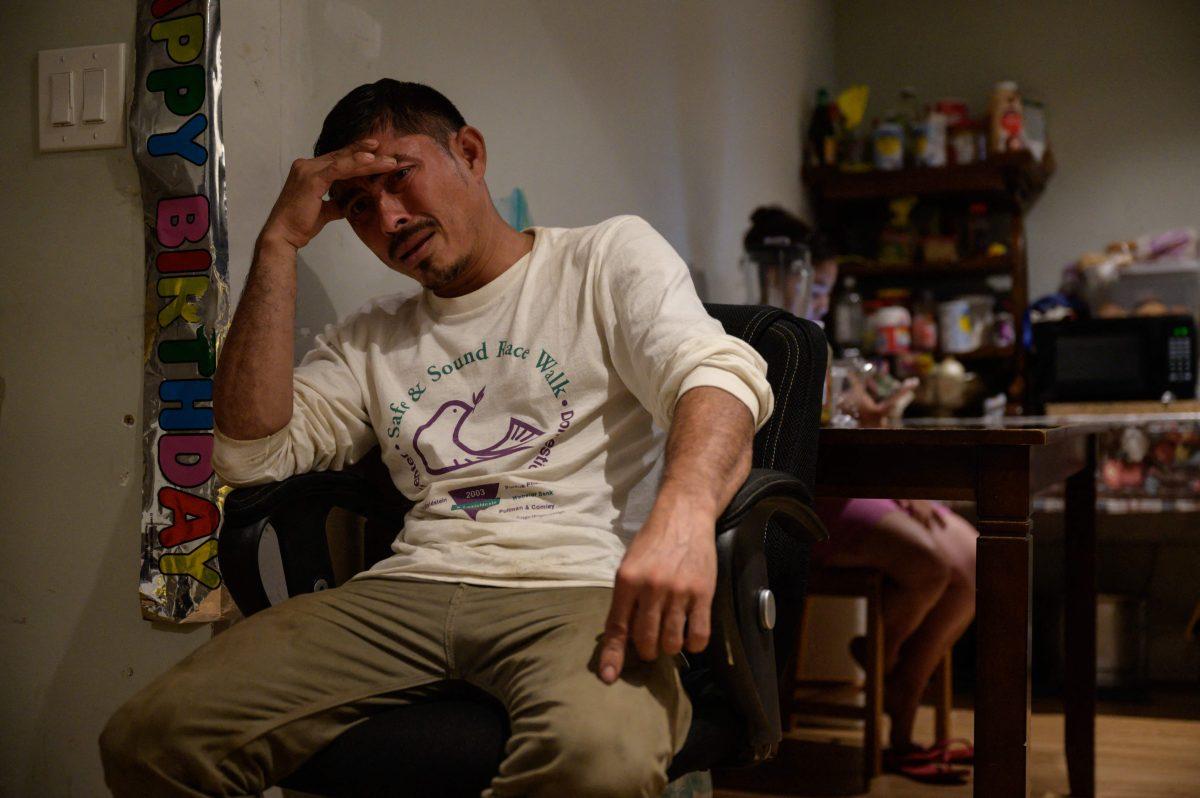 La dura realidad que vive un Guatemalteco en Estados Unidos, un mes después de haber pedido asilo