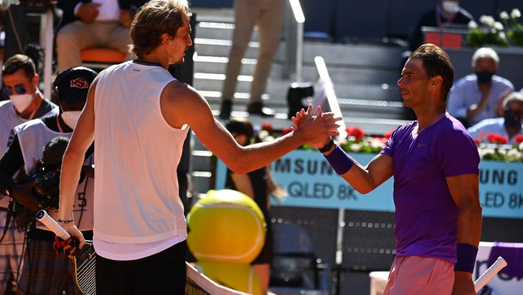 Vaya sorpresa en el Masters 1000 de Madrid; Zverev elimina a Rafael Nadal y se cita en semifinales con Thiem