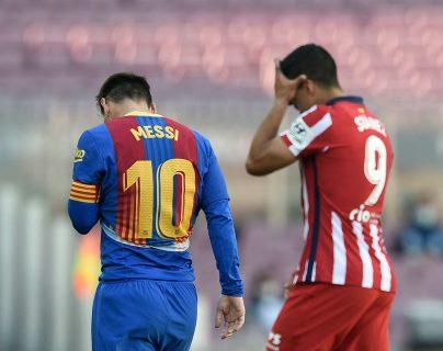 Atlético de Madrid empata 0-0 con el Barcelona y sigue líder de Liga