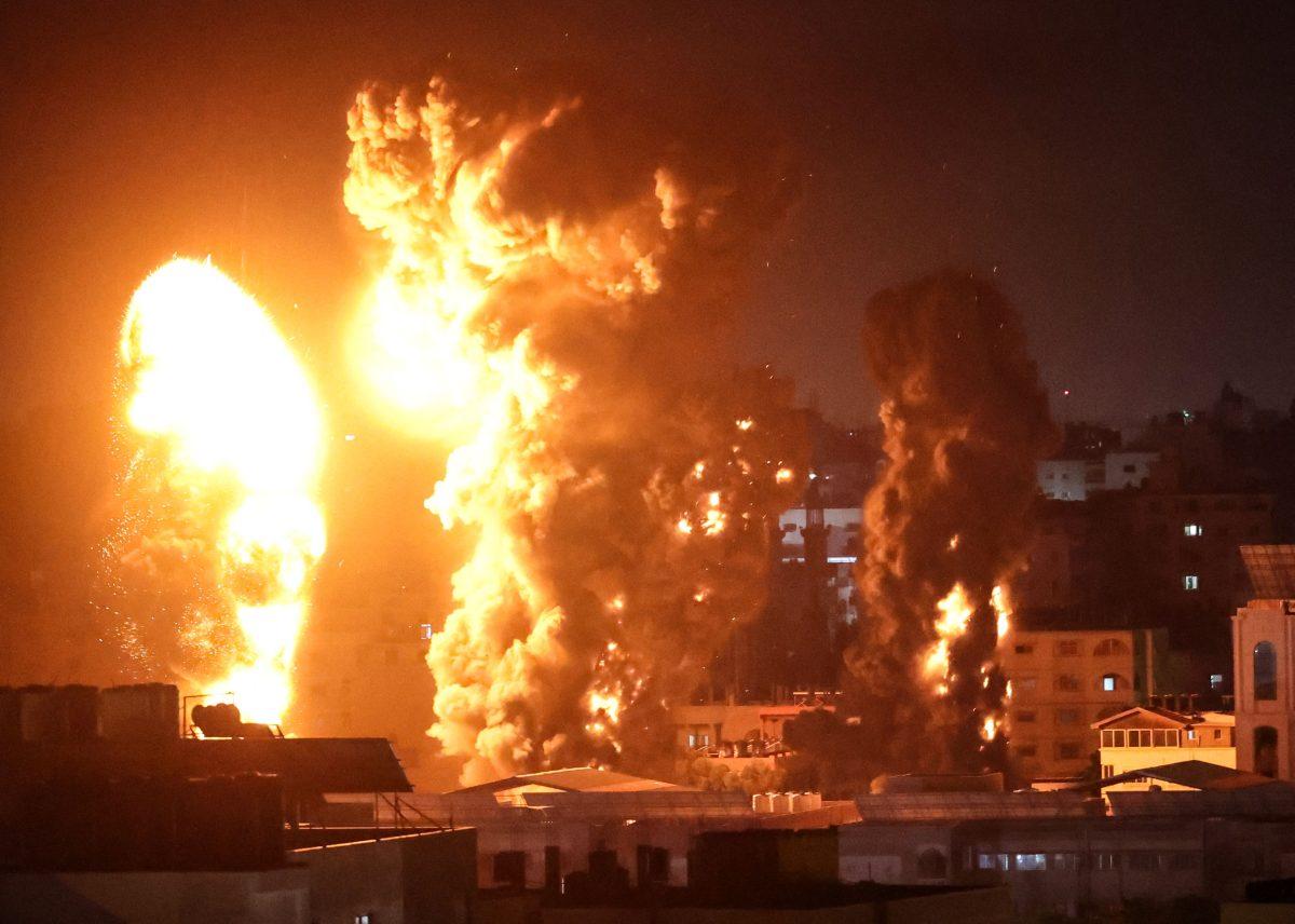 """""""¡Fue el infierno!"""": Bombardeos israelíes matan a 42 palestinos en Gaza"""