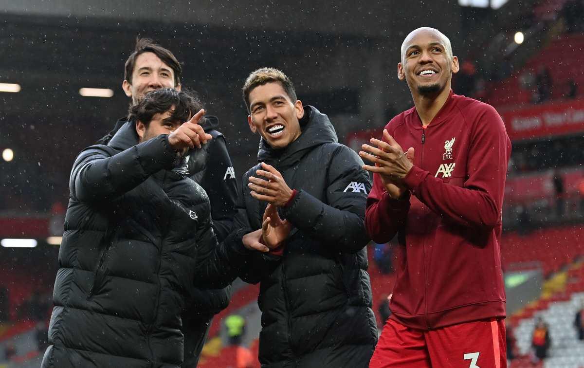 El Liverpool renueva a Fabinho hasta 2026
