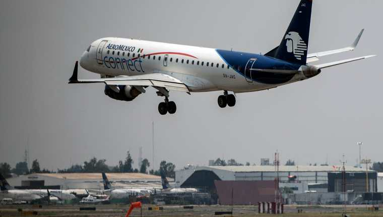 Grupo Aeroméxico presentó un Plan conjunto de reestructura. (Foto Prensa Libre: Hemeroteca)
