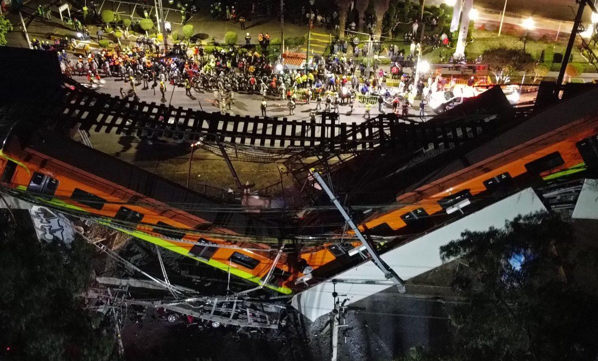 """Accidente en el metro de CDMX: presidente AMLO dice que se investigará """"a fondo"""""""