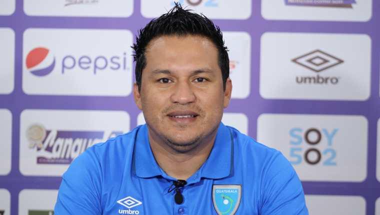 El técnico de la Selección de Guatemala, Amarini Villatoro, habló en conferencia de prensa vía zoom antes de enfrentar a Curazao. (Foto archivo Fedefut).