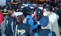 """La Fiscalía de Derechos Humanos ejecutó 17 allanamientos en el caso """"Diario Militar"""" o """"Dossier de la Muerte"""". (Foto Prensa Libre: MP)"""