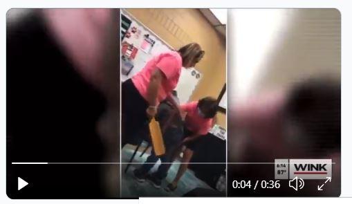 Video: directora de escuela en Florida golpea a alumna hispana de 6 años con una tabla