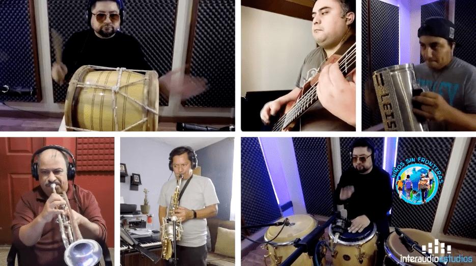 Música sin fronteras: Centroamericanos llevan concierto a 3 mil niños migrantes en albergue de Texas