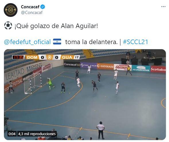El error de Concacaf al informar sobre el gol de Guatemala que no pasó desapercibido en las redes sociales