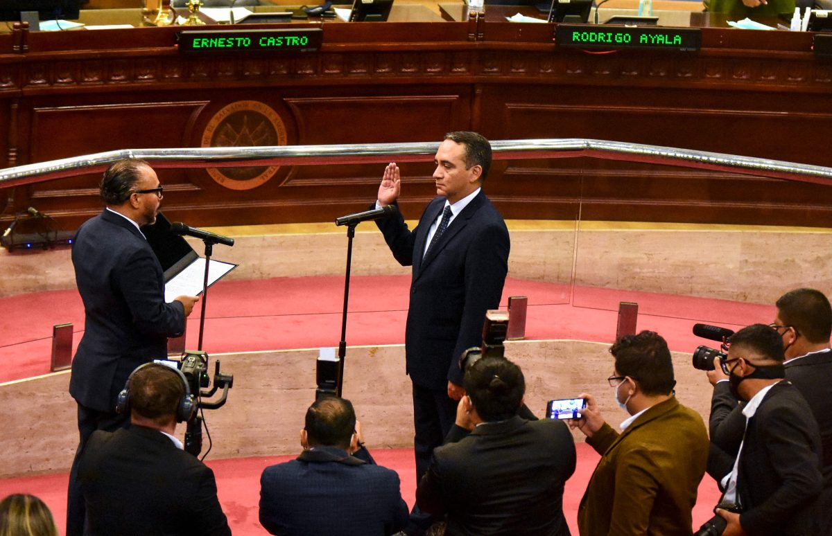 La Asamblea Legislativa también destituye al fiscal general de El Salvador y nombra a sustituto
