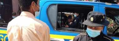 Efraín García López, exalcalde de San Gaspar Ixchil, Huehuetenango, detenido en Huehuetenango. (Foto Prensa Libre: Hemeroteca PL)