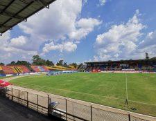 Estadio del Ejército, sede del Aurora FC, será demolido según un evento que sacó a licitación el IPM. (Foto Prensa Libre: Aurora FC)