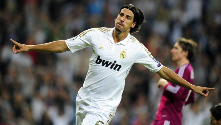 El alemán Sami Khedira tuvo un paso importante por el Real Madrid. (Foto Prensa Libre: AFP)