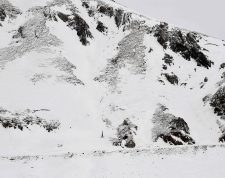 "(FILES) In this file photograph taken on January 27, 2017, a sensor (bottom centre) sits near an observation hut at the bottom of an avalanche corridor where studies by the IRSTEA (National Research Institute of Science and Technology for Environment and Agriculture) on avalanche risk are being carried out at the Col du Lautaret, Villar d'Arène, Hautes-Alpes, eastern France. - Five people have died in several avalanches in the Alps on May 3, 2021, sources said. Three ski tourers died in the morning, swept away in the Ecrins massif (Hautes-Alpes), the Gap prosecutor's office said. According to the first elements, the three victims fell 400 metres after a snow flow broke through a corridor leading to the summit of the ""Grande Ruine"", located at an altitude of 3,700 metres. (Photo by JEAN-PIERRE CLATOT / AFP)"