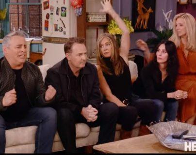 Friends: estas son las primeras imágenes de los actores en el esperado reencuentro