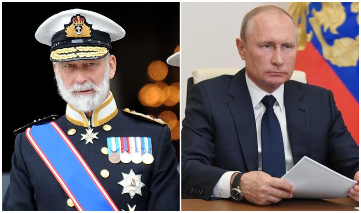 Un primo de Isabel II se ofrece como intermediario para negocios con Vladimir Putin