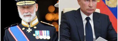 Las actividades del príncipe Michael de Kent fueron reveladas por medios internacionales. (Foto Prensa Libre: EFE)