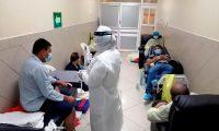 Los casos de coronavirus van en aumento en Guatemala. (Foto Prensa Libre: AFP)