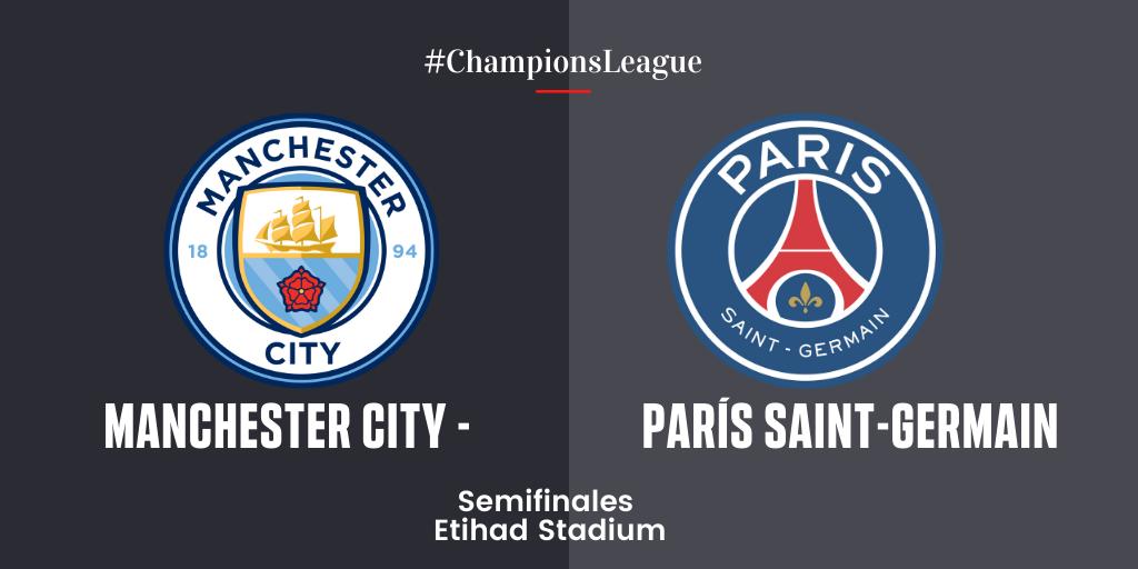 EN DIRECTO | Manchester City vs París Saint-Germain