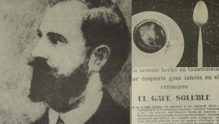 En 1910, Federico Lehnhoff propuso una nueva forma de consumir el café. (Foto Prensa Libre: Hemeroteca PL)