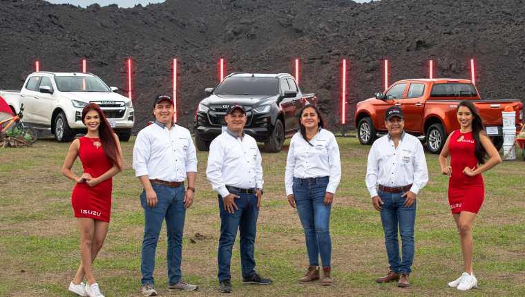 Canella presentó el poderoso Isuzu D-Max. Foto Prensa Libre: Cortesía.