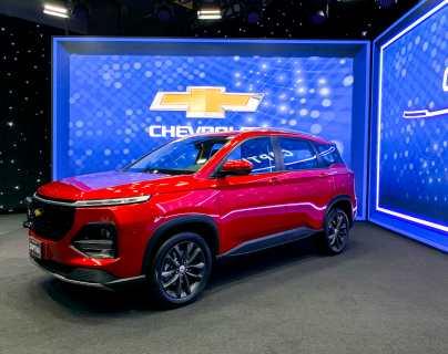 Grupo Cofiño presentó la nueva Chevrolet Captiva