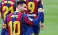 Leo Messi tuvo una buena temporada en lo personal. (Foto Prensa Libre: Twitter FC Barcelona)