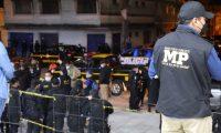 Autoridades efectúan operativos contra las extorsiones. (Foto Prensa Libre: MP)