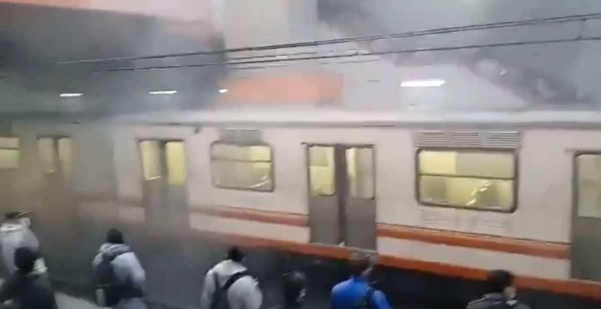 Nuevo incidente en el metro de México provoca pánico en usuarios