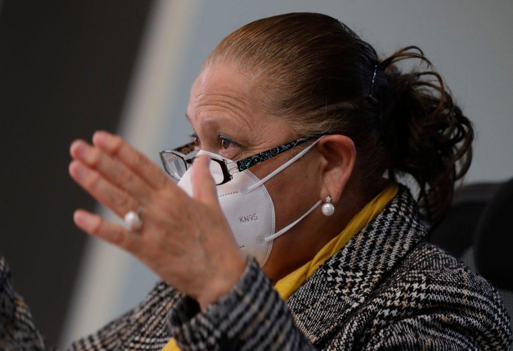 Consuelo Porras, fiscal general del Ministerio Público. Foto: Esbin García