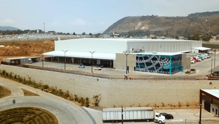 El nuevo centro de distribución de PepsiCo tiene una extensión de 43 mil 500 metros cuadrados, en Villa Nueva. (Foto Prensa Libre: Cortesía PepsiCo)