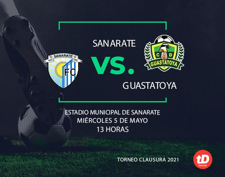 EN DIRECTO | Sanarate vs Guastatoya
