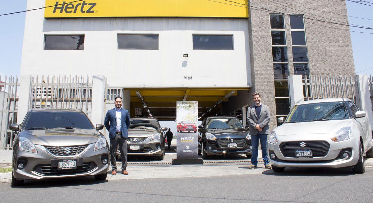 Autos Suzuki y Hertz se unen para reactivar la economía guatemalteca