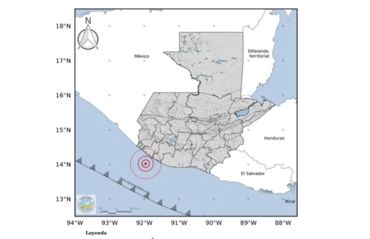 Temblor de 4.8 grados fue sensible en parte de Guatemala a las 4 de la mañana (hubo 12 el fin de semana)