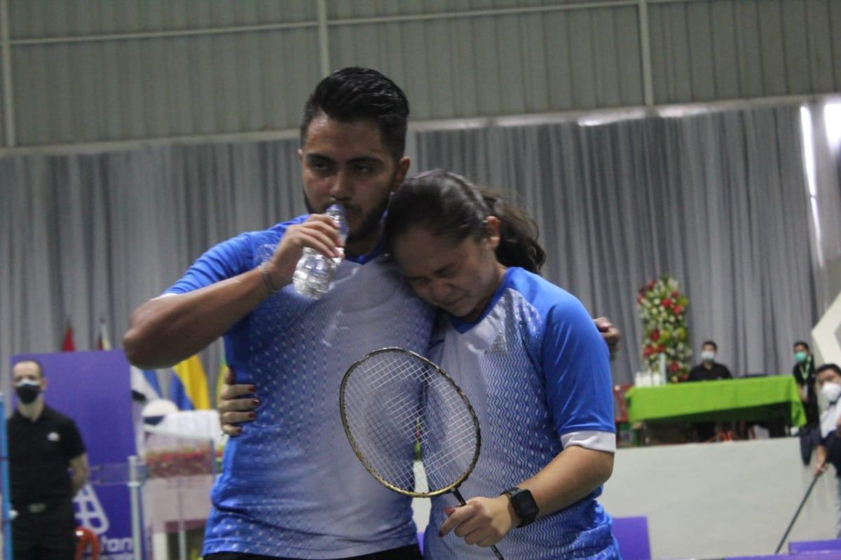 Los guatemaltecos Christopher Martínez y Mariana Paiz pelearán por el oro en el Panamericano de Bádminton
