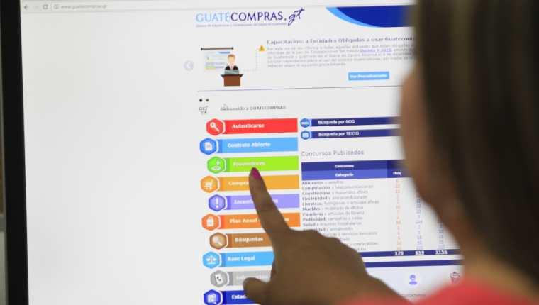 Guatecompras es la herramienta de transparencia del Estado. Foto: Hemeroteca Prensa Libre