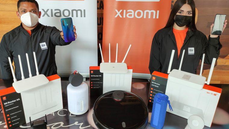 Xiaomi ofrece una amplia variedad de productos para facilitar la vida de sus clientes. Foto Prensa Libre: Norvin Mendoza.