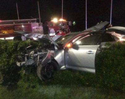 Manejó borracho, chocó y mató a dos amigos: el video del trágico choque en Argentina