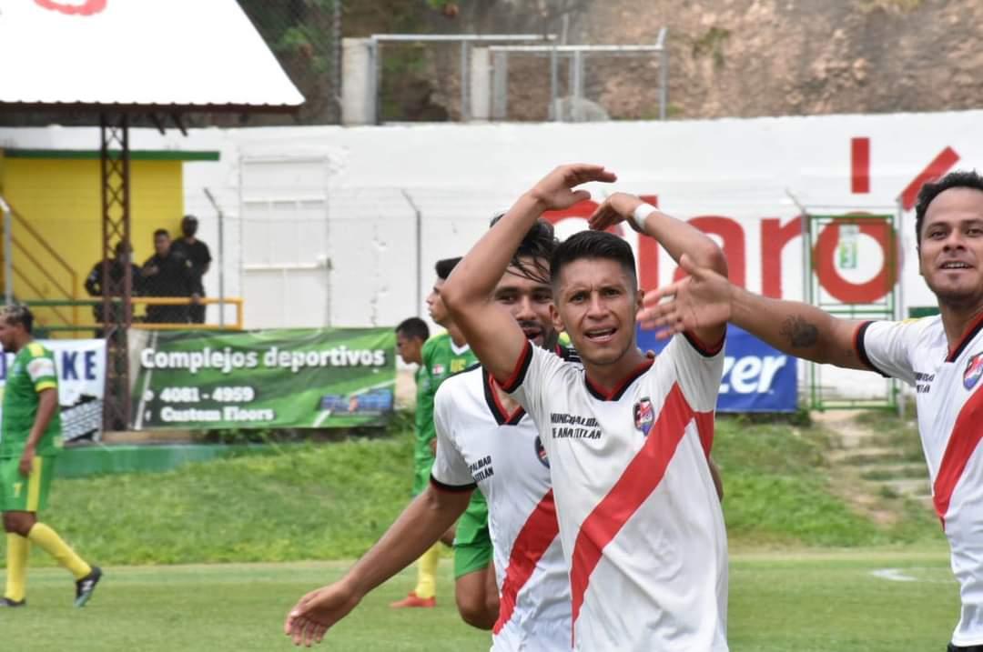 Amatitlán festeja el ascenso a la Liga Primera División, después de superar Chiquimulilla