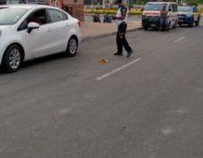 Dentro del vehículo quedó fallecido un hombre. (Foto: Bomberos Voluntarios)