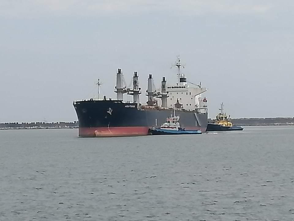Venían de China: Dos marinos de barco que descarga en EPQ dan positivo a covid-19
