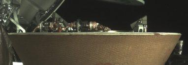 El contenedor de muestras de la nave OSIRIS-REX fue sellado para su regreso. (NASA/Goddard/Universidad de Arizona/Lockheed Martin)