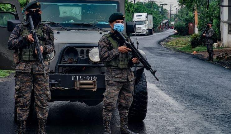 Soldados de la Brigada de Operaciones para Montaña. (Foto Prensa Libre: Ejército de Guatemala)