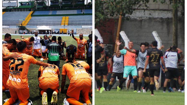 La Nueva Concepción y Quiché avanzan a la final y ganan medio boleto para el ascenso. (Foto LigaGT y AndresNafd).