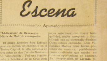 1950: ¿Qué obras se presentaban y cuánto se pagaba para ver teatro en Guatemala?